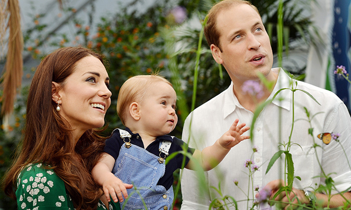 "One month after welcoming George, William sat down with ABC News to give royal watchers an update. ""He's a little bit of a rascal,"" he said, comparing his son to his younger self and his brother, Prince Harry. ""He's a little fighter. He wriggles around quite a lot, which is a little bit of a problem.""