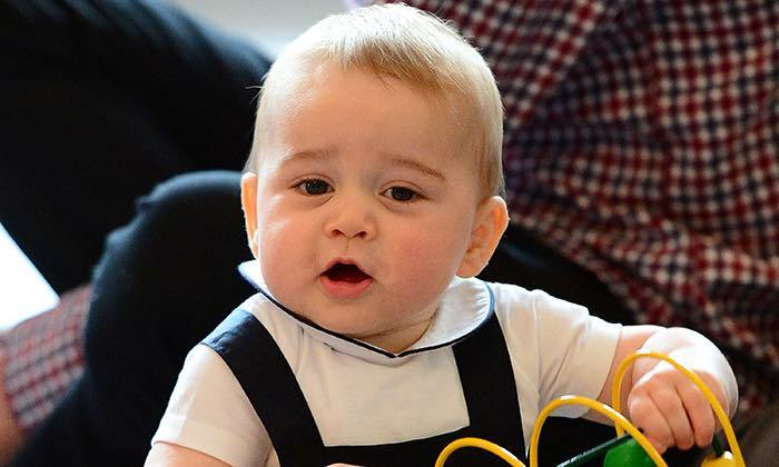 "When he and Kate stepped out for the first time after welcoming their little boy, William said: ""This is actually our first evening out without [Prince George], so please excuse us if you see us nervously casting surreptitious glances at our mobile phones to check all is well back home.""