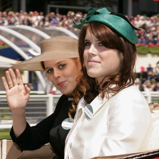 June 2011:The royal siblings spent a day at the Royal Ascot.
