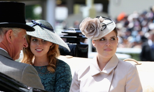 June 2014: The girls rode with their uncle, Prince of Wales, on day one of the Royal Ascot.