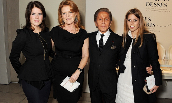 November 2012: The fashionable siblings went with their mother Sarah Ferguson to a dinner celebrating designer Valentino in London.