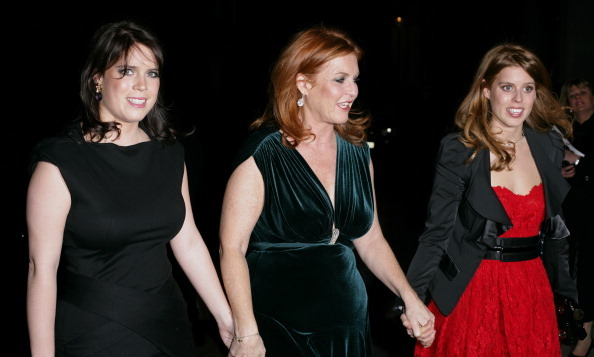 March 2011: Eugenie credits both her mother and sister as being her best friends. The trio spent an evening together at the Children in Crisis fundraiser.