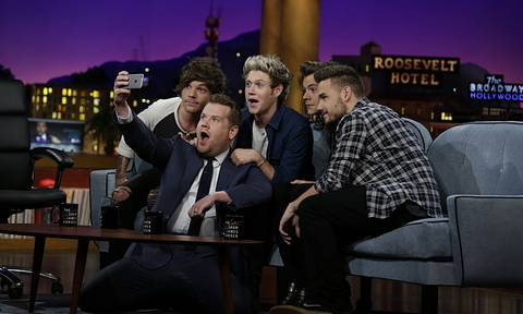 James Corden Credits One Direction Show Visit To Louis Tomlinsons