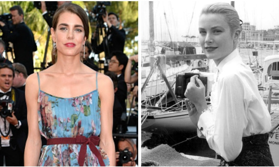 Grace Kellys Look A Like Granddaughter Charlotte Casiraghi Dazzles In Cannes