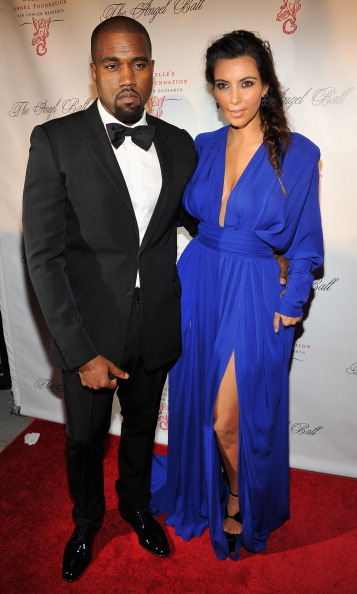 Earlier on in the relationship, Kanye West and Kim Kardashian glowed as a new couple while attending the Angel Ball in New York back in 2012. 