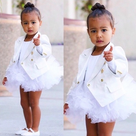 Kim Kardashian S Daughter North West Combines Ballet With