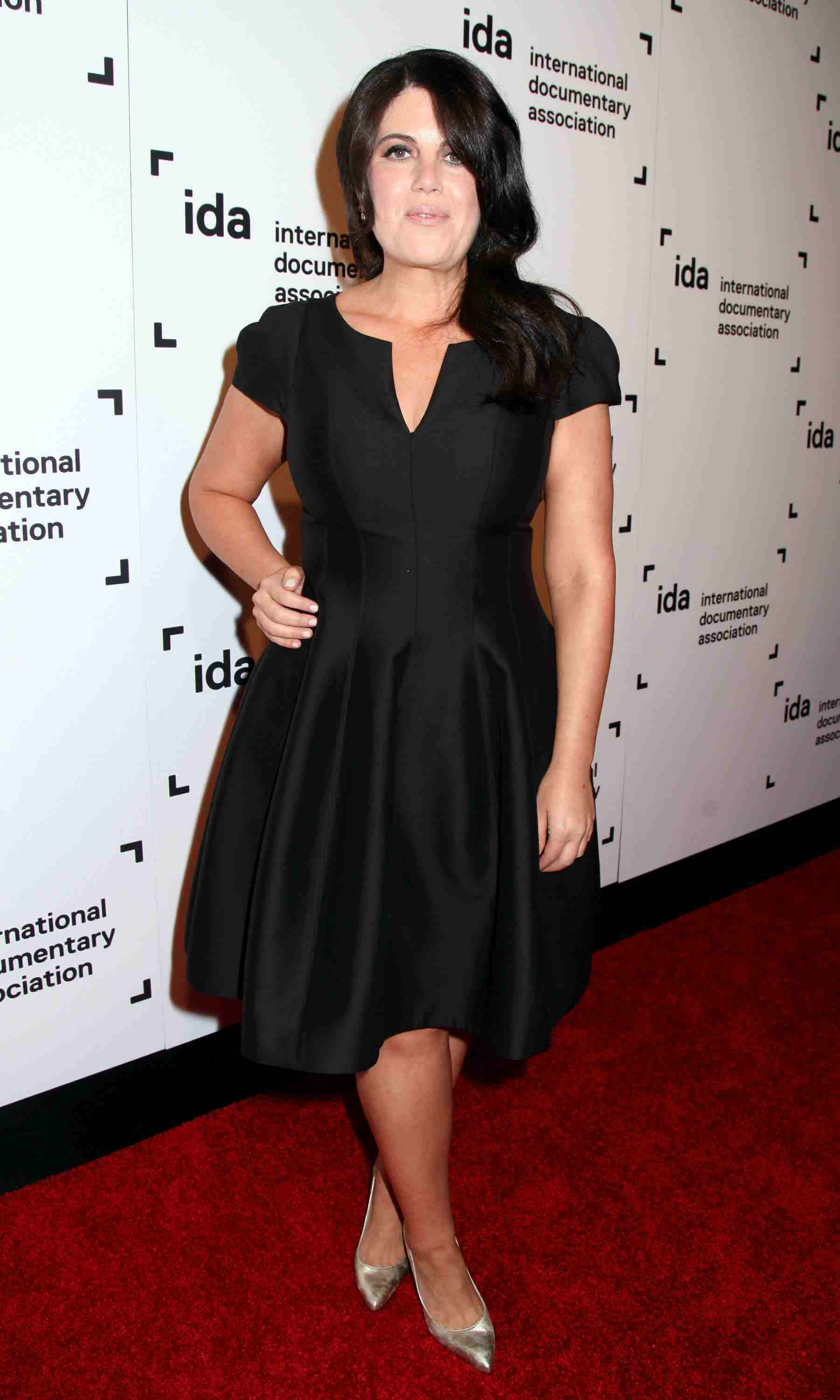 Monica Lewinsky Shows Off Her Glam New Look At The 2015
