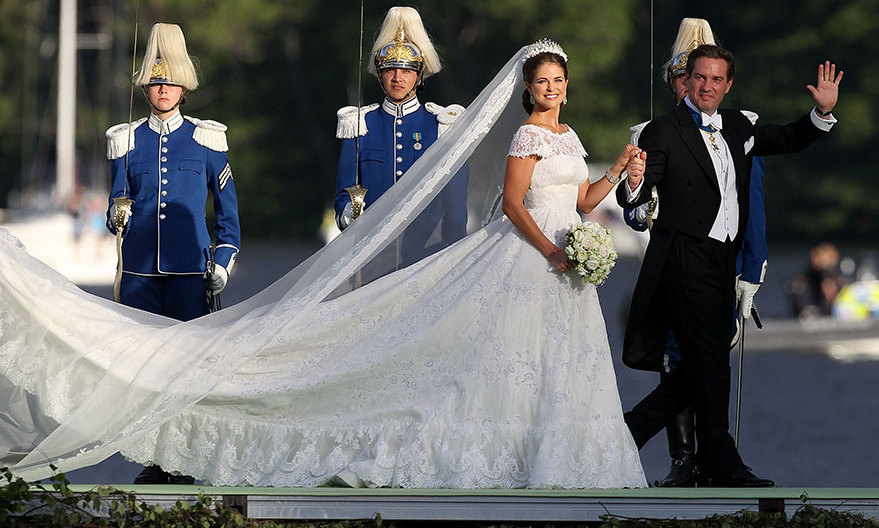 <b>PRINCESS MADELEINE OF SWEDEN</B>