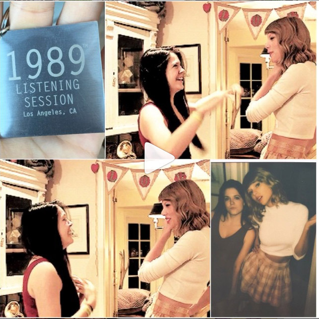 Taylor invited Kasey Andrew to her exclusive '1989' listening party at her New York City apartment. While there, Taylor offered her words of encouragement after the fan reached out and shared her experience about a recent heartbreak.  