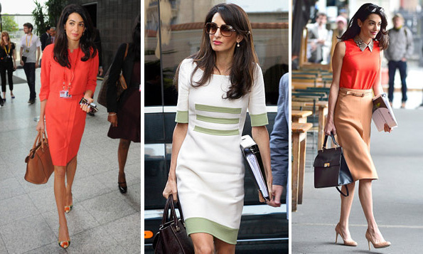 Amal Clooney style: The key pieces from her daytime, off ...