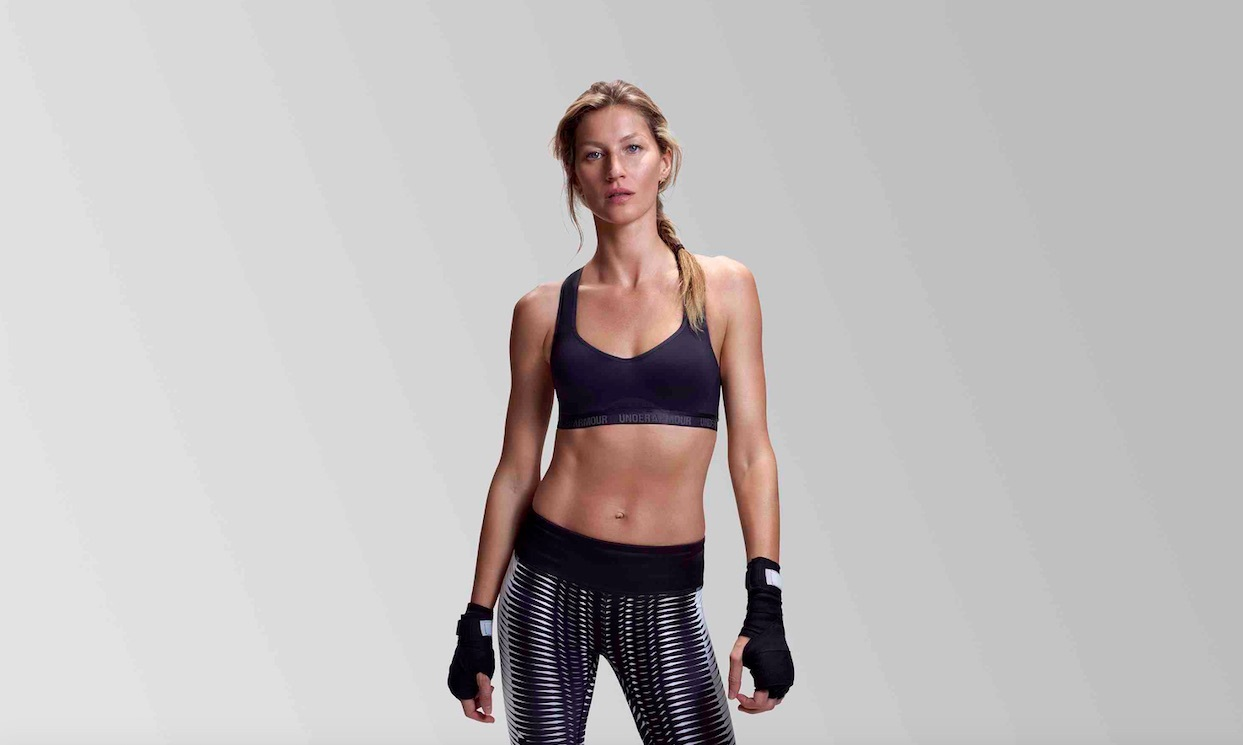 Gisele Bundchen proved that she is both fierce and fashionable when she signed up to work with Under Armour. The classic sportswear line has a ton of celebrity fans like Anne Hathaway, Britney Spears, Charlize Theron and more.