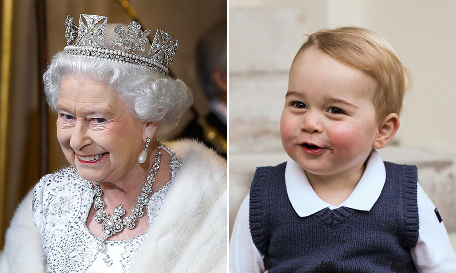 And last, but certainly not least, the young Prince has also mastered his great-grandmother Queen Elizabeth's endearing smile. 