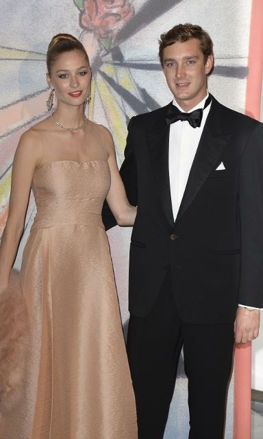 Beatrice channeled old-Hollywood glamour when attending the Monaco Rose Ball in 2014. 