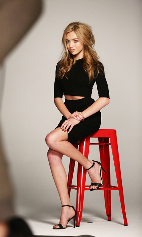 Peyton List Stars In New Bongo Campaign Behind The Scenes
