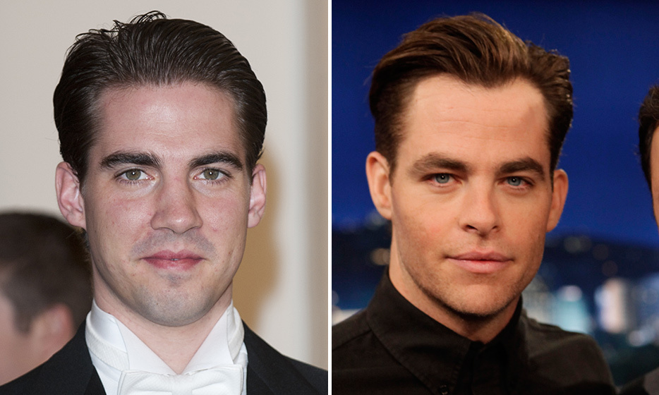 Prince Philippos of Greece and Chris Pine