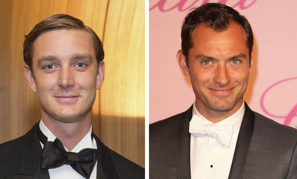 Pierre Casiraghi of Monaco and Jude Law 