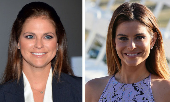 Princess Madeleine of Sweden and E!'s Maria Menounos 