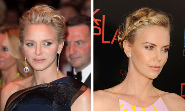 Princess Charlene of Monaco and Charlize Theron 