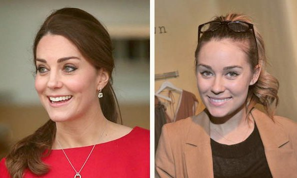 The Duchess of Cambridge and Lauren Conrad 