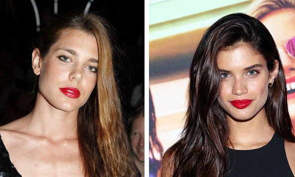 Charlotte Casiraghi of Monaco and model Sara Sampaio 