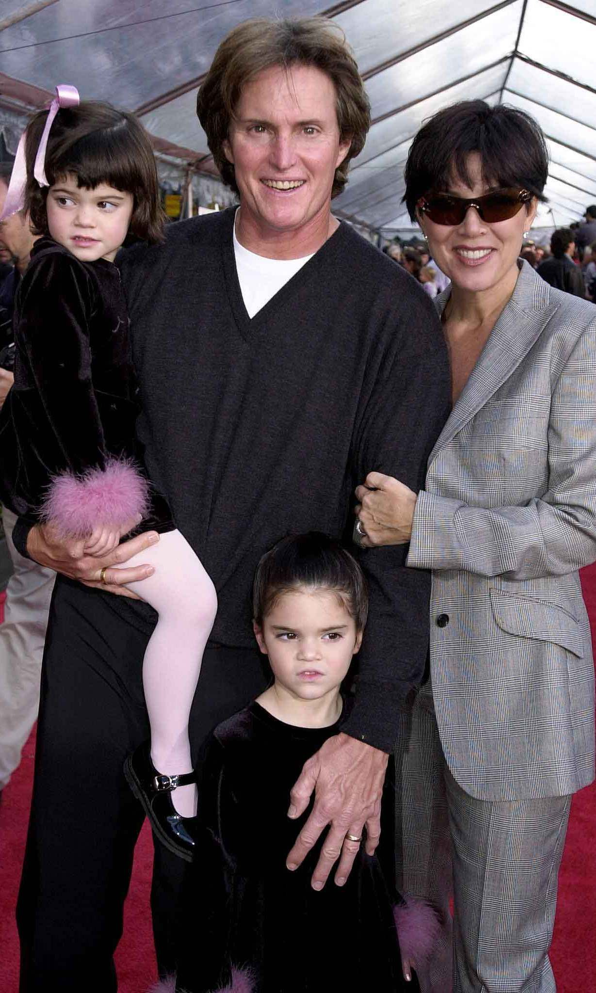 Little Kylie was as cute as a button on the red carpet with her family in 2000.