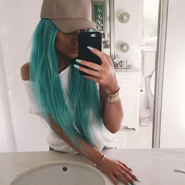 In 2014, she experimented with haircolor – and launched a hair extension line called Kylie Hair Kouture.