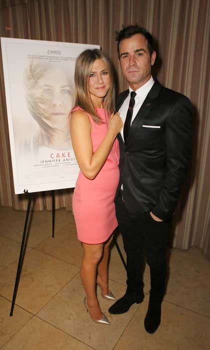 Jennifer had her #1 fan by her side throughout he promotion of her acclaimed work in <i>Cake</i> in 2014. Here, they attend the film's cocktail party in West Hollywood.