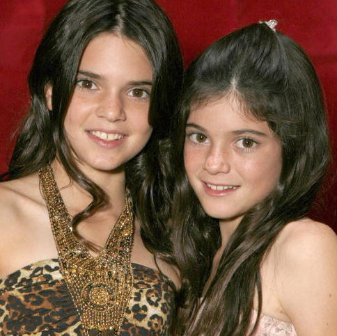 In 2007, Kylie and sister Kendall (left) were inseparable at a 'Keeping Up With the Kardashians' viewing party.