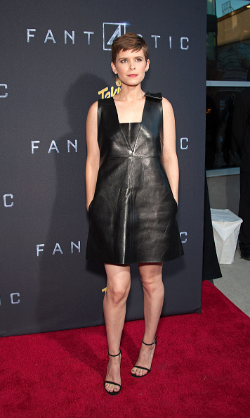 Aug 4: Kate Mara dazzled during the premiere of 'The Fantastic 4' in New York City. 