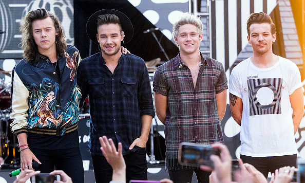 Aug 4: One Direction debuted their new song 'Drag Me Down' during 'Good Morning America' in New York City.
