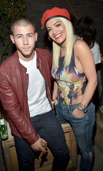 "Aug 5: Nick Jonas and Rita Ora kept it cool at ""The After Party"" in West Hollywood. 