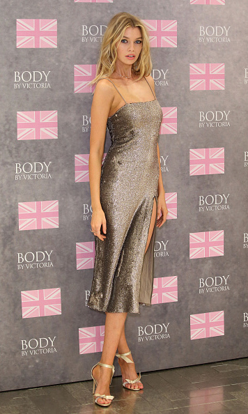 August 12: New Victoria's Secret Angel Stella Maxwell stunned at the Body By Victoria launch event in London. 