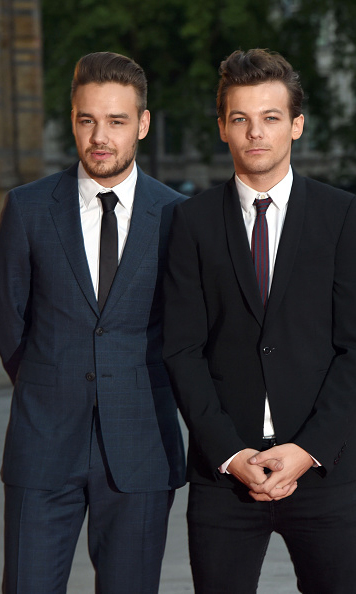 August 10: Liam Payne and Louis Tomlinson looked sharp at the Believe in Magic Cinderella Ball in London. 
