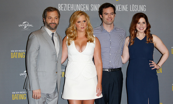 August 11: Amy Schumer and the cast of 'Trainwreck' continued the premiere circuit in Berlin.
