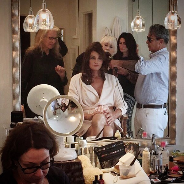 Caitlyn Jenner recruited a small ¨Glam Squad¨ army that gives the Kardashian sisters' teams a run for their money. Both Jessica Diehl and Jen Rade have styled the reality star, while George Oribe has carefully crafted her hair, and Mark Carrasquillo took care of makeup.