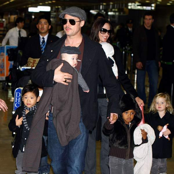 Angelina on building a family with Brad: