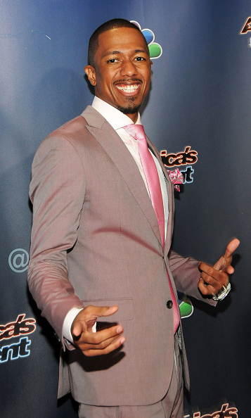 August 19: Nick Cannon was dapper as usual during the 'America's Got Talent' in NYC. 