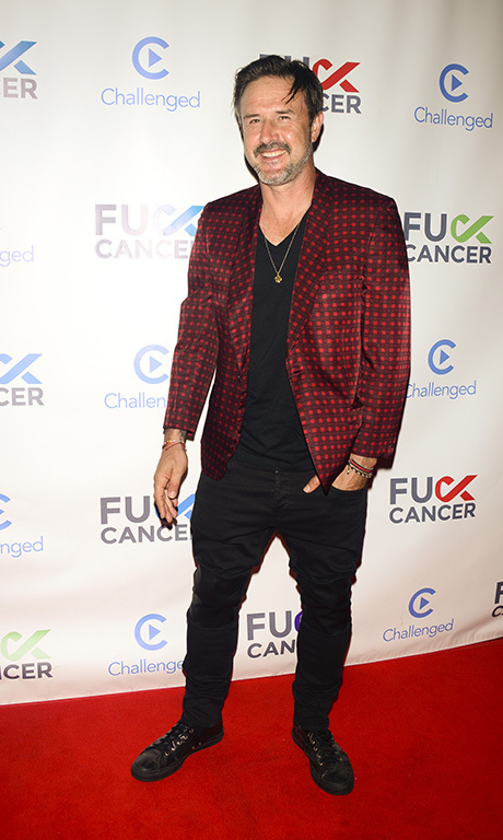 August 20: David Arquette worked the red carpet at FCancer's benefit event in West Hollywood. 