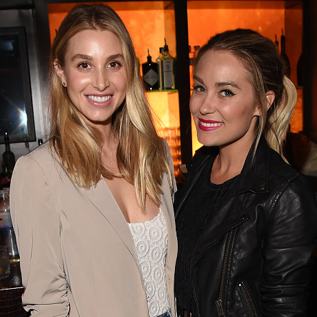August 22: 'The Hills' are alive! Lauren Conrad and Whitney Port reunited during the Taylor Swift concert at a Tommy Bahama party in the Hyde Staples Center.