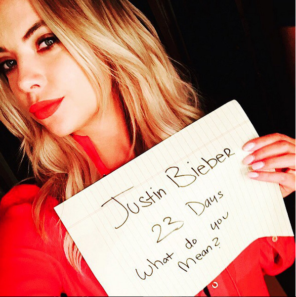 23 Days: Ashley Benson