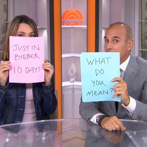 10 Days: Matt Lauer and Savannah Guthrie