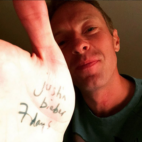 7 Days: Chris Martin.