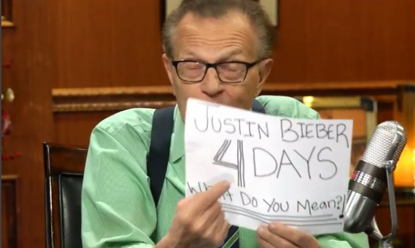 4 Days: Larry King