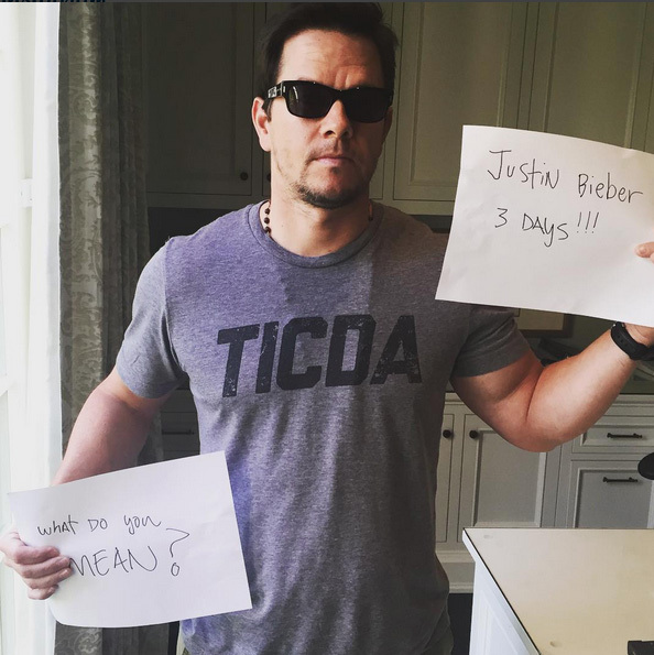 3 Days: Mark Wahlberg.