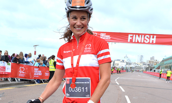 Kate's sister finished the London To Brighton Bike Ride For British Heart Foundation.