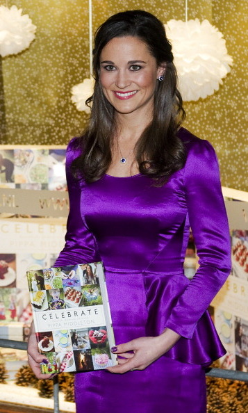 And purple! Pippa added author to her stellar resume when she launched her own book on party planning in 2012.
