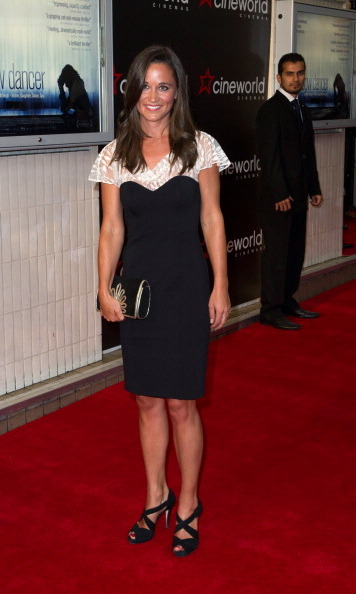 She dresses perfectly for the occasion. Though she's not a movie star, Pippa certainly dazzled on the red carpet at the premiere of Shadow Dancer.