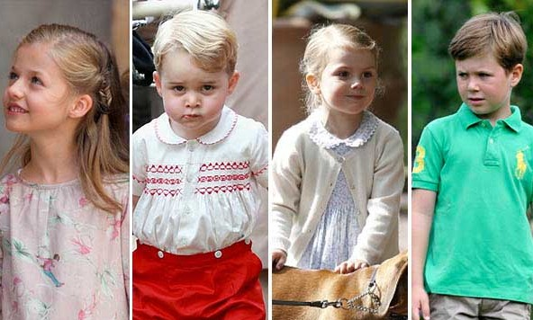 The future of the royal families around the globe is in these kids' hands. Check out the adorable future heirs to the throne and their royal siblings and cousins!