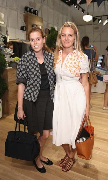 September 9: Princess Beatrice attended the Derek Lam 10C Athleta launch party. 