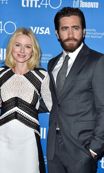 September 11: Jake Gyllenhaal and Naomi Watts were busy handling press for their new film 'Demolition' at the Toronto International Film Festival. 